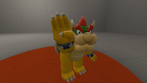 Bowser Sign Language Hand B Deaf by HuswserStar