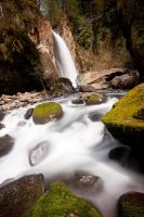 Drift Creek Falls II by futureplug