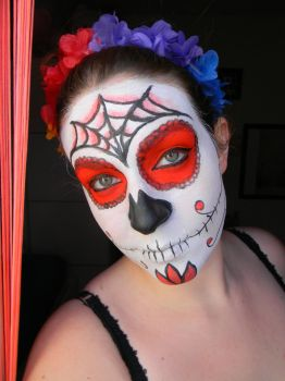 Sugar Skull First Try out by girlnori