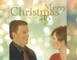 A Caskett Christmas by concentriccookies
