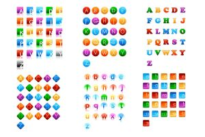 156 letter marks for logo by scorpy-roy