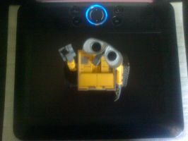 My Wall-e and my tablet by aninhachanhp