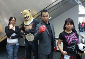 Tekken at Wondercon 2011 by Kayobreaker
