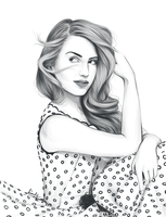 Dianna Agron by kimpertinent