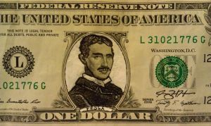 Refacing Our Currency, Nikola Tesla by jeremyhara