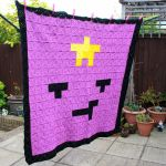 Lumpy Space Princess Pixel Art Blanket by EssHaych