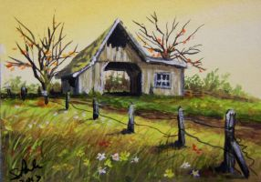 ACEO Signs of Autumn by annieoakley64