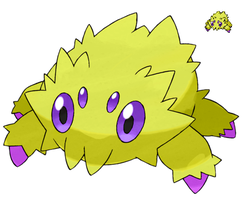 Pokemon 5G Shiny Joltik by etherspear