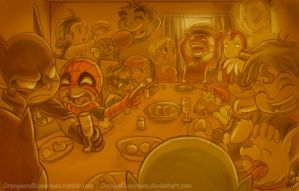 Happy Thanksgiving 2012 by OrangeBlueCream
