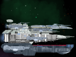 The Fleet Is In by animatrocities