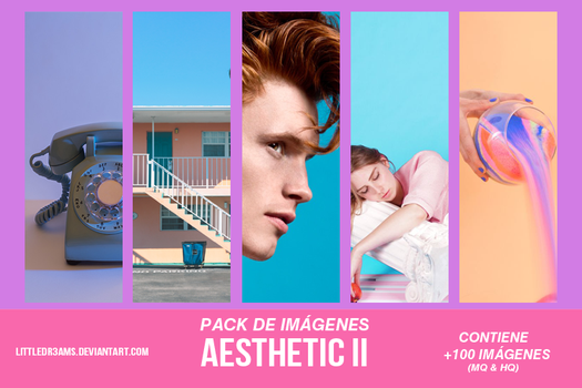 AESTHETIC PACK II by LittleDr3ams