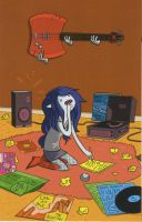 marceline componiendo by fionnaymarshall