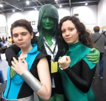 Sub Mariner, She Hulk, Green Lantern! by JimmyDanzig