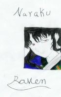 Naraku colored Sketch by RavenluvsSesshomaru