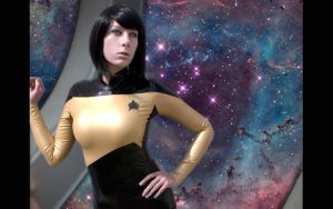 Lady Data - Star Trek by ConstantineInTokyo