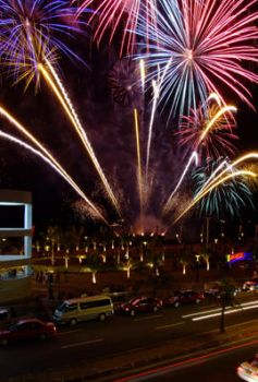 MALL OF ASIA FIREWORKS by misfortuned