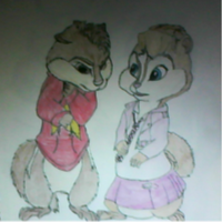 Alvin and Brittany by jcis4me