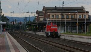 Poor lonesome switcher by ZCochrane