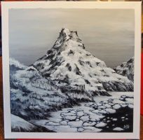 Snow Mountain by fugiDUDUP