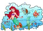 Ariel Pokemon Color by jmascia