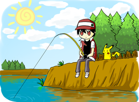 Fishing by blakperl