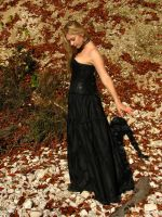Black Dress 1 by Kuoma-stock