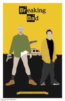 Breaking Bad poster by billpyle