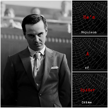 Spider (James Moriarty) by Sherlockian-Artist