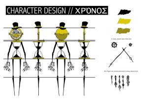 A-Level Graphics: character design - CHRONOS