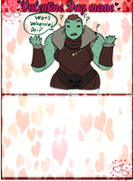 Orc Questions on Valentines day by SavageJubster