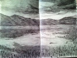Nature Drawing by Dania987