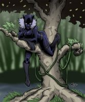 Black Panther II by mase0ne