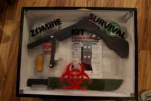 Zombie Survival Kit by Larissa-Rasputin
