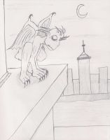 The Gargoyle by darkvamp001