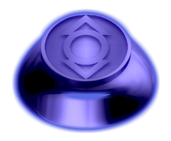 Indigo Lantern Ring by KalEl7