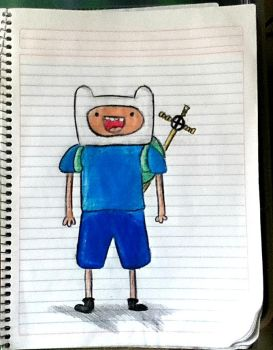 Finn, the human with a dog nam just kidding by PauuT