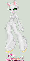 Sakuro pony girl base by leviathen