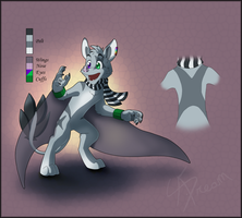 Chirogo design for WolfBoyAshiro by AbsoluteDream
