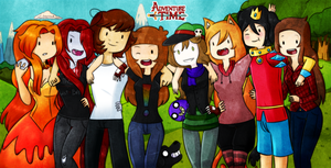 Awesome People and me! by Rumay-Chian