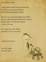 SPOILERS Rainbow's letter by Khan-the-cake-lover
