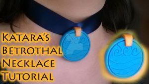 Katara's Betrothal Necklace (Video Tutorial) by NerdEcrafter