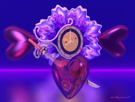Amore  and  Time for Rosy by Sazzart1