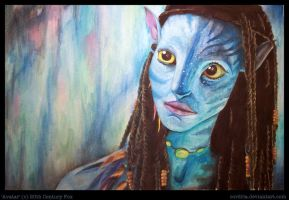 Avatar 2 .:watercolor:. by cordria