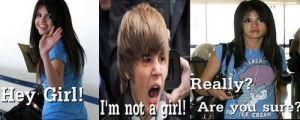 Justin is a girl by getinline