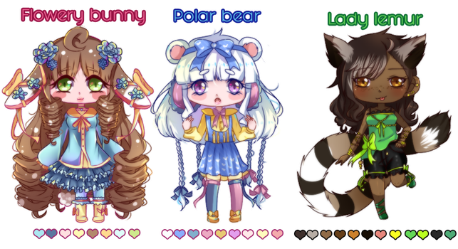 +Adoptables+ OPEN by Crystaliiisms