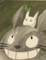 Happy Totoro by Princess-Kiwi6