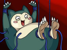 Snorlax Tickled by Lord-Reckless