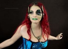 Butterfly Make Up by Sylvia-Crystal