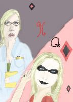 Quinzel and Quinn by allymills