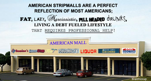American Stripmall by brainhiccup